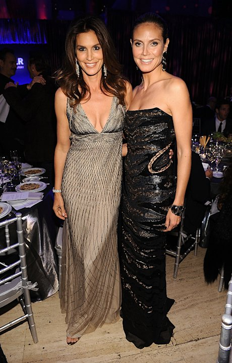 Cindy Crawford, Heidi Klum