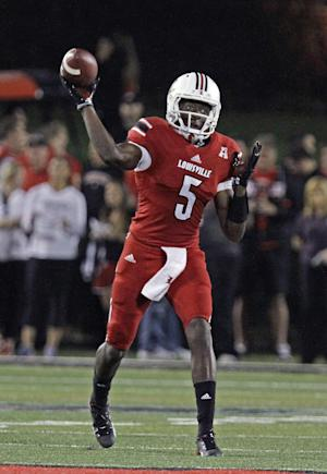 No. 8 Louisville survives Rutgers, 24-10