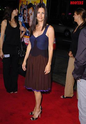 Courteney Cox Arquette at the Hollywood premiere of Paramount Pictures' The Longest Yard