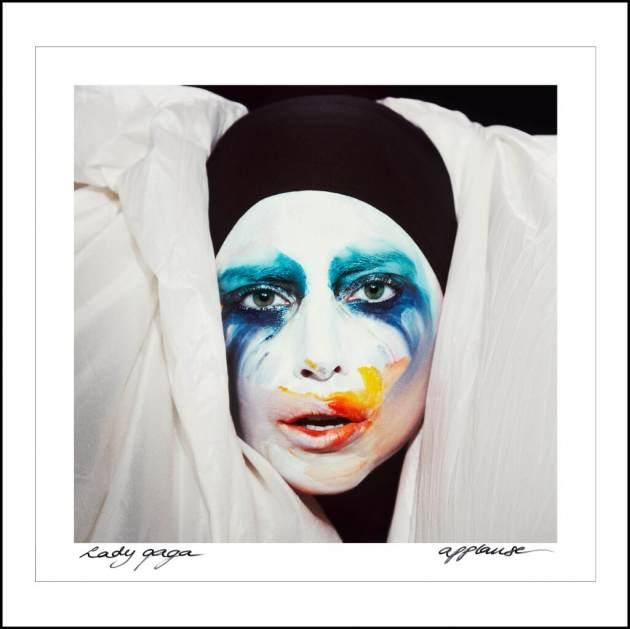 Lady Gaga's artwork for 'Applause'  -- Twitter