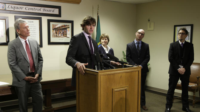 Washington touts credentials of new pot consultant