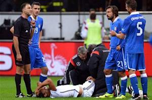 Real Madrid and Germany face anxious wait over 'severe' Khedira injury