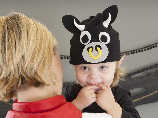 Adorable Baby Bull Costume
