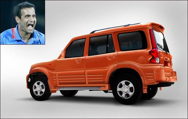 photo of Irfan Pathan Mahindra Scorpio - car