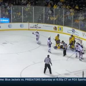 Oilers at Predators / Game Highlights