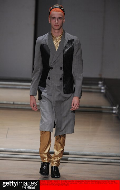 Comme Des Garcons Homme Plus - Mens Spring Summer 2013 Runway - Paris Menswear Fashion Week