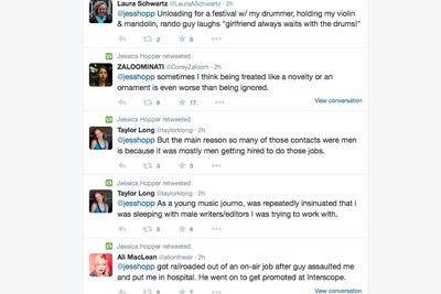 This massive Twitter response shows the awful discrimination in the music industry