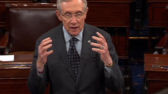 "Reid hits ""pause"" on Senate gun bill"