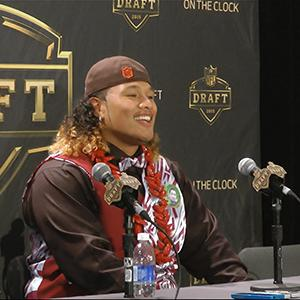 NFL #12 Pick Shelton Going to Browns