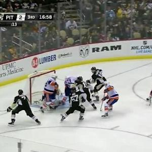 Marc-Andre Fleury Save on Cory Conacher (03:02/3rd)
