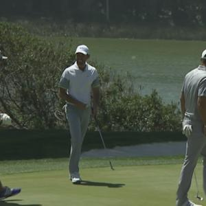 Charl Schwartzel's eagle hole-out is the Shot of the Day