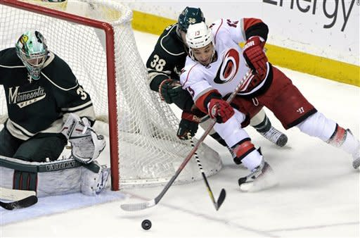 Brent, Sutter lead Hurricanes past Wild