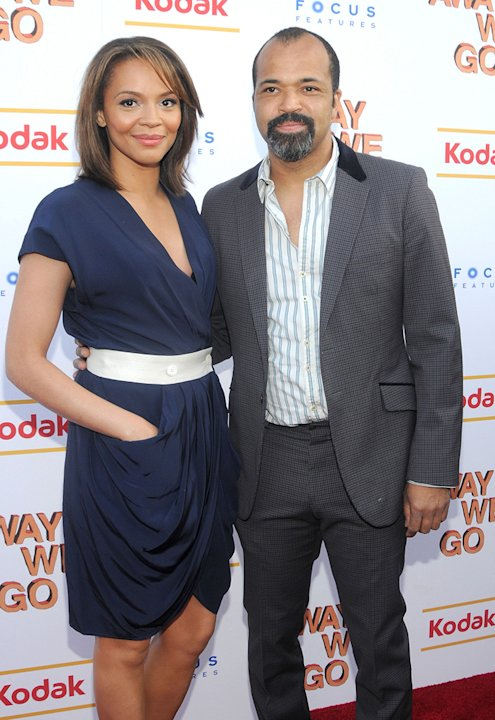 Away We Go NY Screening 2009 Carmen Ejogo Jeffrey Wright