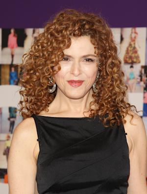 """FILE - In this June 7, 2010 file photo, actress Bernadette Peters attends the 2010 CFDA Fashion Awards in New York.  Peters, along with Jan Maxwell, Danny Burstein and Ron Raines, will reprise their roles in the Broadway transfer of the Kennedy Center musical """"Follies,"""" opening Sept. 12, 2011.  (AP Photo/Peter Kramer, file)"""