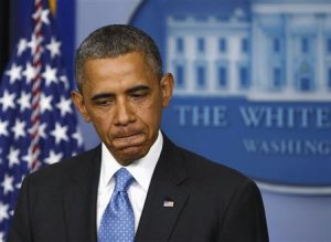 U.S. President Obama speaks about Trayvon Martin at …