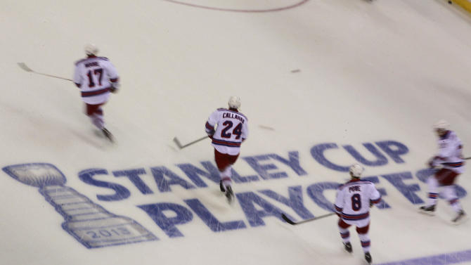NHL: Stanley Cup Playoffs-New York Rangers at Washington Capitals