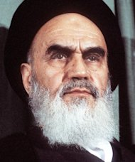 Iran's revolutionary leader Ayatollah Ruhollah Khomeini during a rally in Tehran on February 5, 1979. The Turk who shot Pope John Paul II in St Peter's Square in 1981 claimed in a new book that Khomeini told him to assassinate the pontiff