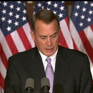 Boehner: Obama Sabotaged Any Chance of Bipartisan Reform