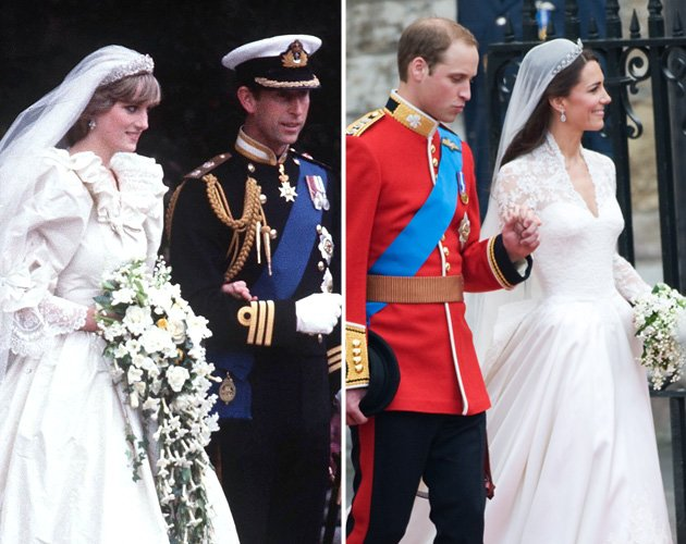The world&amp;#39;s two most famous wedding dresses