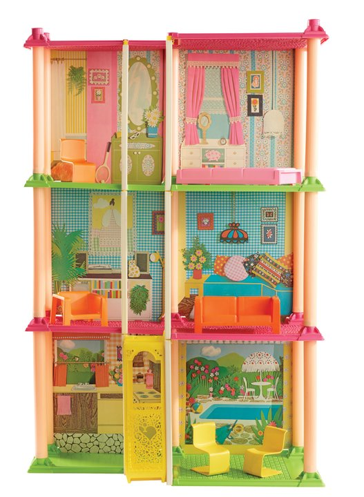 Barbie Dreamhouse through the decades 1974