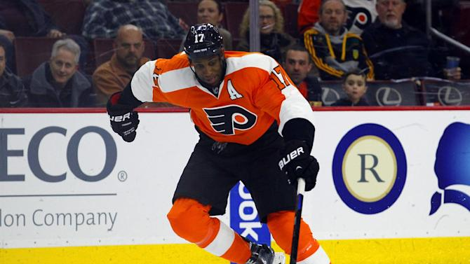 Wayne Simmonds on Flyers: We don't want 'repeat of last year'