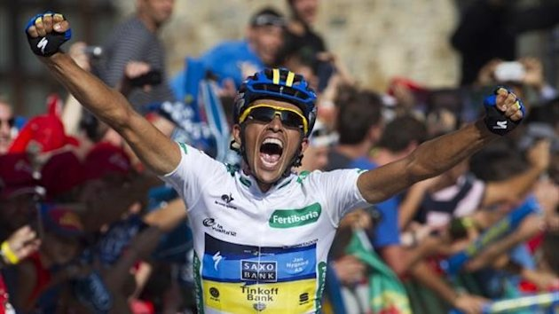 alberto contador vuelta 2012