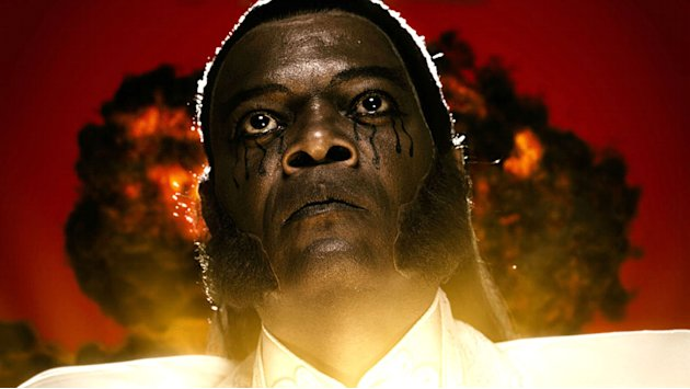 Samuel L. Jackson The Spirit Production Stills Lionsgate 2008
