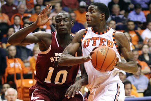 Washburn leads UTEP over New Mexico State 55-54