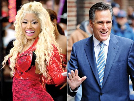 Nicki Minaj Raps About Voting for Mitt Romney