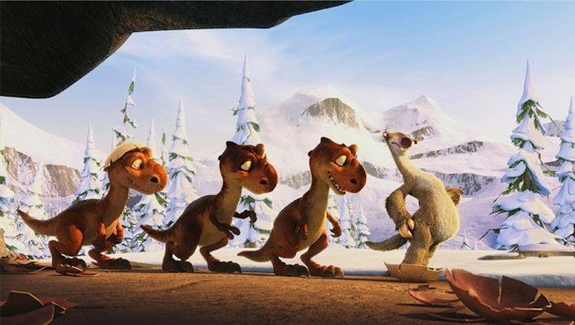Ice Age Dawn of the Dinosaurs Production Photos 20th Century Fox 2009
