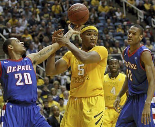 West Virginia defeats DePaul 92-75 in home finale