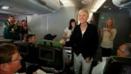 Ellen's Qantas Flight Home