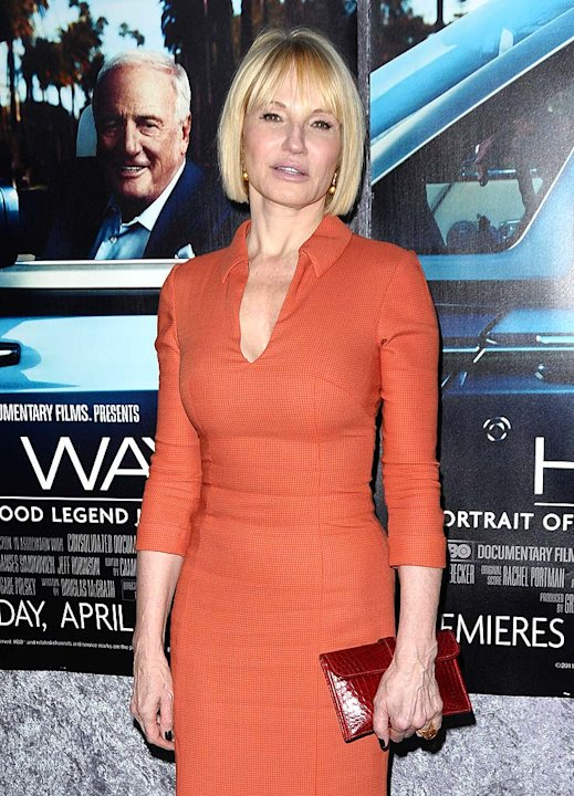 Ellen Barkin His Way Premiere