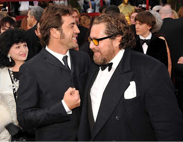 Oscars 2008 Javier Bardem Julian Schnabel