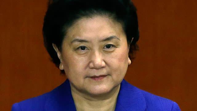 China Leadership May Have 1st Woman