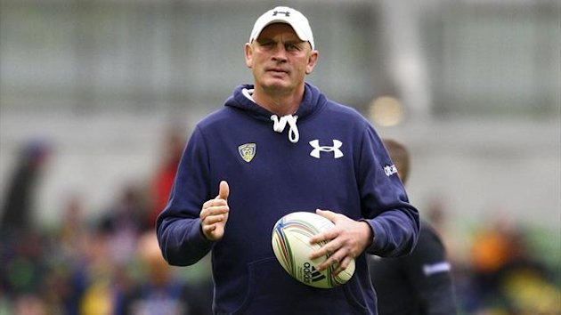 Clermont Auvergne's head coach Vern Cotter