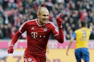 Robben: Manchester United will be a 'difficult duel'