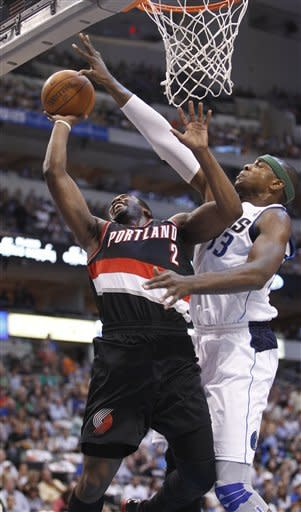 Aldridge leads Blazers to OT win over Mavericks