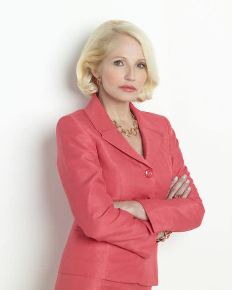 Liberal actress Ellen Barkin tackles a conservative role on 'The New Normal'