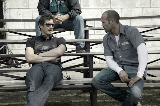 Director Paul W.S. Anderson Jason Statham Death Race Production Stills Universal 2008