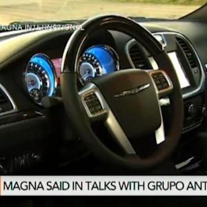 Magna Said to Be In Talks to Sell Interior Business