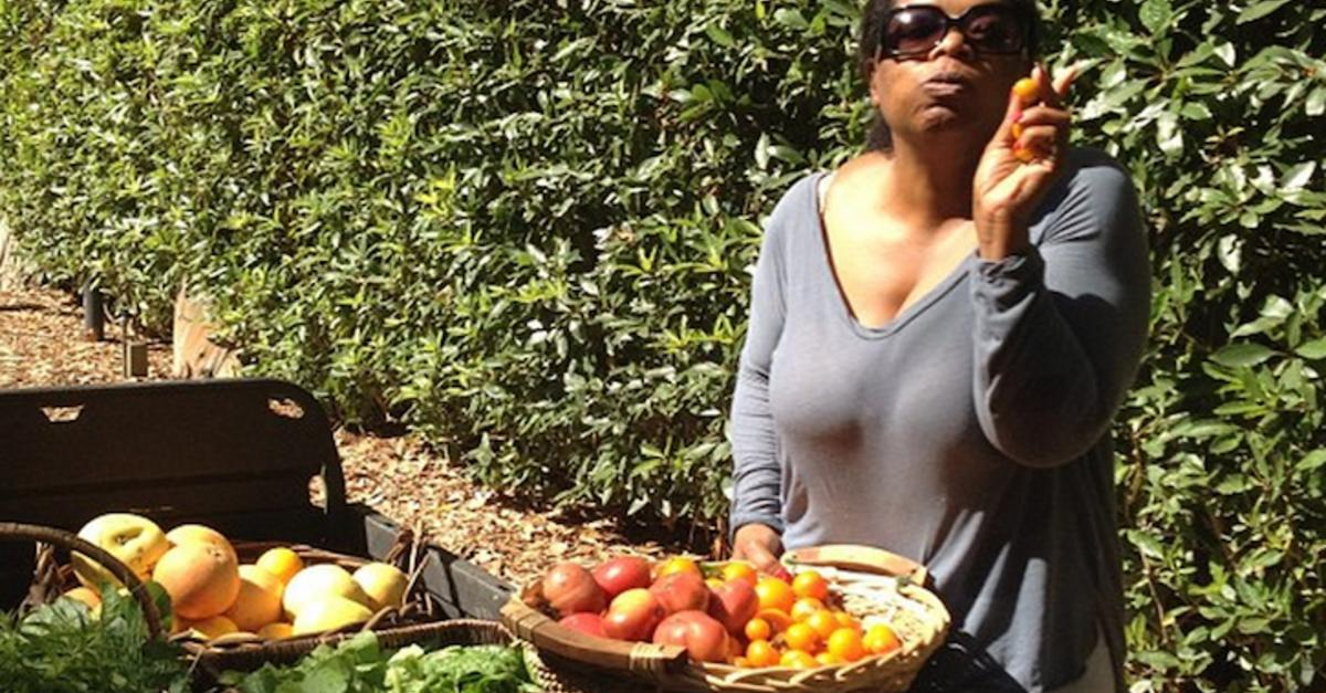 19 Times Oprah Proved How Amazing Vegetables Are