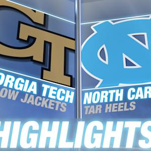 Georgia Tech vs North Carolina | 2014 ACC Football Highlights