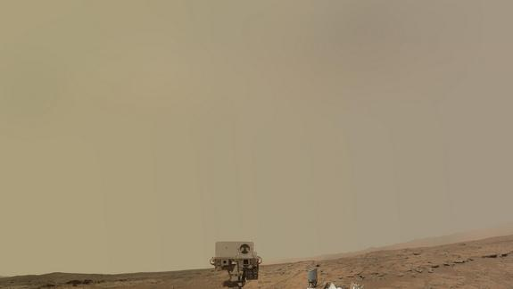 NASA's Mars Rover Curiosity Recovering from Computer Glitch