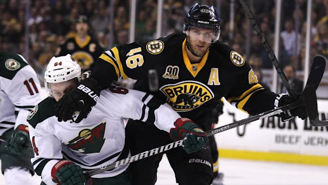 Bruins extend winning streak to 9; beat Wild 4-1