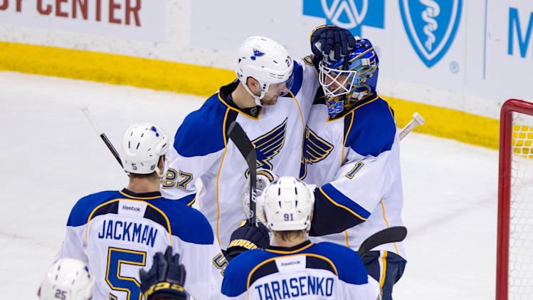 NHL: St. Louis Blues at Minnesota Wild
