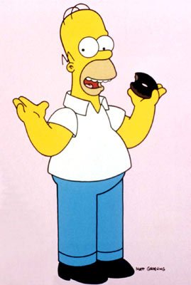 Homer J. Simpson (voiced by Dan Castellaneta)
