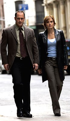 "Christopher Meloni as Detective Elliot Stabler and Mariska Hargitay as Detective Olivia Benson NBC's""Law and Order: Special Victims Unit"" Law & Order: Special Victims Unit"
