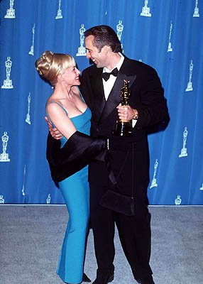 Patricia Arquette and Nicolas Cage 68th Academy Awards Los Angeles, CA 3/25/1996