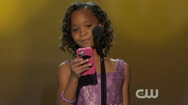 Quvenzhane Wallis, 9, Wins Critics' Choice Award